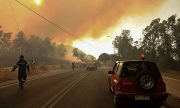 Σφοδρές πυρκαγιές σε Ρόδο και Αιτωλοακαρνανία - Εκκενώθηκαν οικισμοί