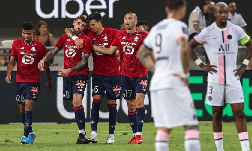 Σούπερ Καπ Γαλλίας: Τροπαιούχος η Λιλ, 1-0 την Παρί Σεν Ζερμέν στο... Ισραήλ!