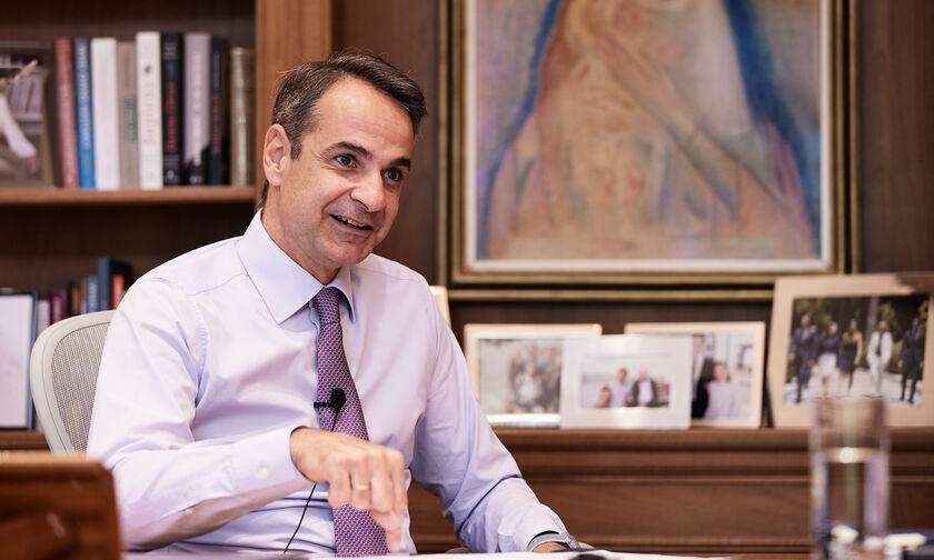 Μητσοτάκης για Τεντόγλου: «Μαζί του πέταξε όλη η Ελλάδα»