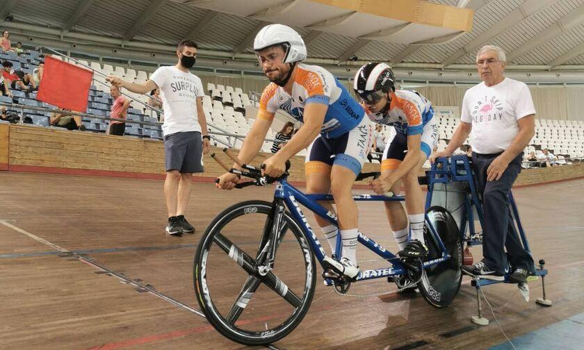 Έξι νέα εθνικά ρεκόρ στο Πανελλήνιο πρωτάθλημα ποδηλασίας πίστας