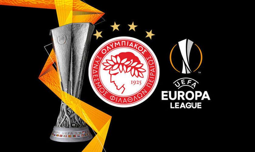 Κλήρωση Europa League: Με Λίνκολν ή Σλόβαν ο Ολυμπιακός, αν αποκλειστεί από την Λουντογκόρετς