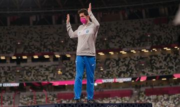 Ολυμπιακοί Αγώνες 2020: Γνώρισαν την αποθέωση στο Ολυμπιακό Χωριό οι Τεντόγλου και Πετρούνιας (vid)