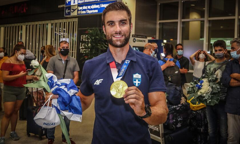Ολυμπιακοί Αγώνες 2020: Υποδοχή με τιμές αρχηγού κράτους για τον Ντούσκο στα Γιάννινα (vid)