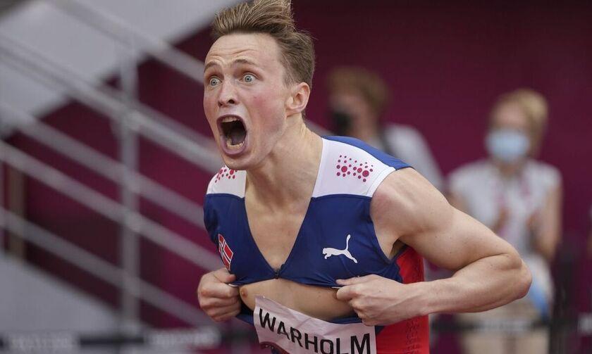 400μ. εμπόδια: Παγκόσμιο ρεκόρ ο Βάρχολμ (vid)