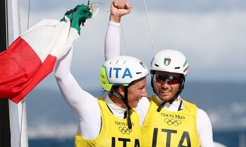 Ιστιοπλοΐα (Foiling Nacra 17 μεικτό): Χρυσό για την Ιταλία