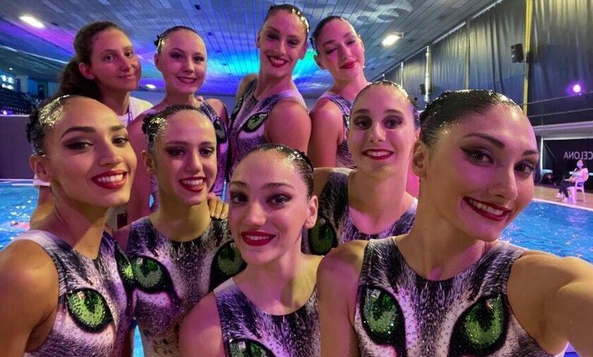 Εκτός Ολυμπιακών Αγώνων όλη η Εθνική ομάδα της Καλλιτεχνικής κολύμβησης