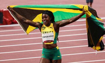 Ολυμπιακοί Αγώνες 2020: «Σάρωσε» και τα 200 μέτρα η Τόμπσον! (vid)