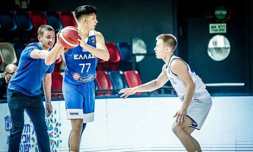 Εφήβων: Εσθονία – Ελλάδα 83-85 - Nίκη στην παράταση!