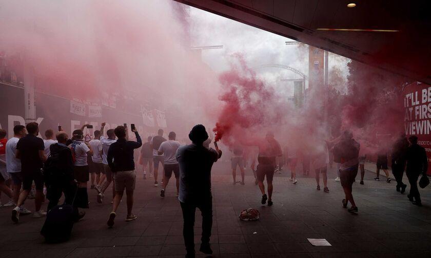 Η UEFA ξεκίνησε πειθαρχική διαδικασία κατά της Αγγλική Π.Ο. για όσα έγιναν στον τελικό του EURO