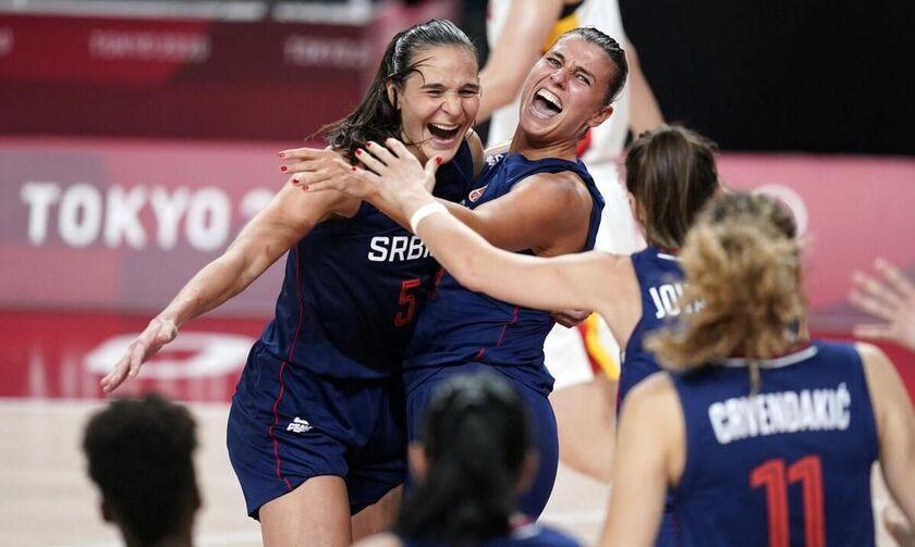 Ολυμπιακοί Αγώνες 2020: Στα ημιτελικά η Σερβία, 77-70 την Κίνα (vid)