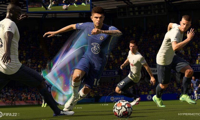 FIFA 22: Nέο trailer για το επαναστατικό HyperMotion! (vid)