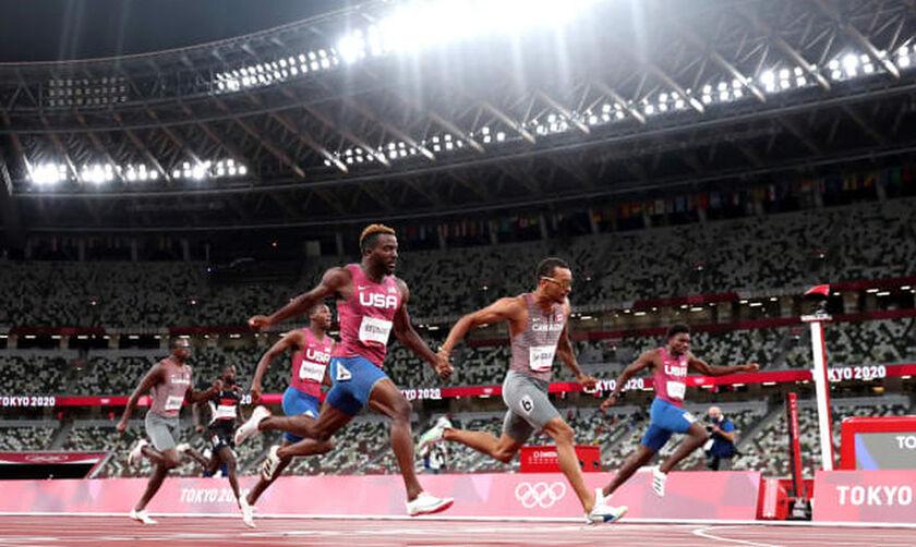 Ολυμπιακοί Αγώνες 2020: Έχασαν και τα 200 οι Αμερικάνοι, χρυσό ο Καναδός Ντε Γκρας (vid)