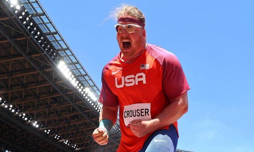 Ολυμπιακοί Αγώνες 2020: Ξανά «χρυσός» ο Κράουζερ στη σφαιροβολία ανδρών