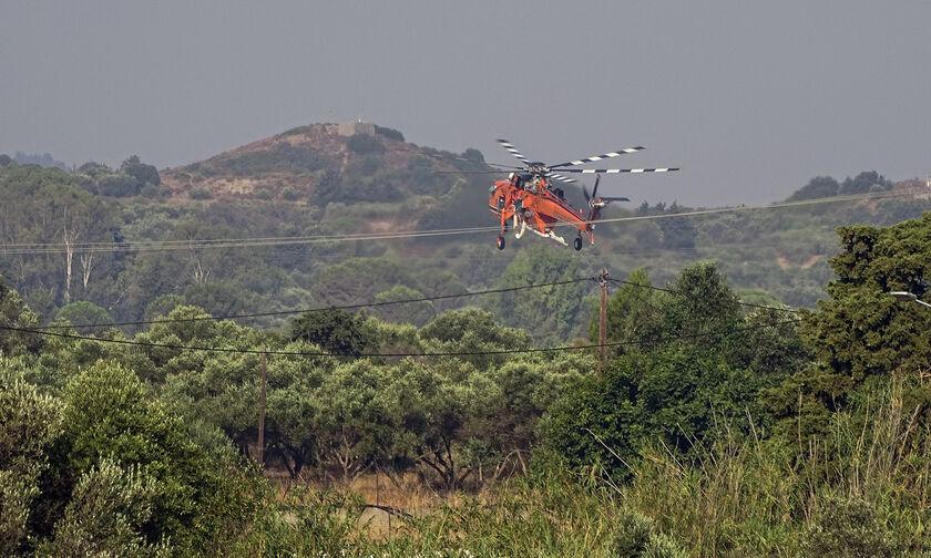Πυρκαγιά στη Ρόδο: Ξεκίνησε η καταγραφή των ζημιών