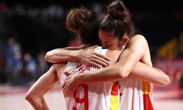 Ολυμπιακοί Αγώνες 2020 - Μπάσκετ: Εκτός βάθρου μετά από 17 χρόνια η Ισπανία σε άνδρες και γυναίκες