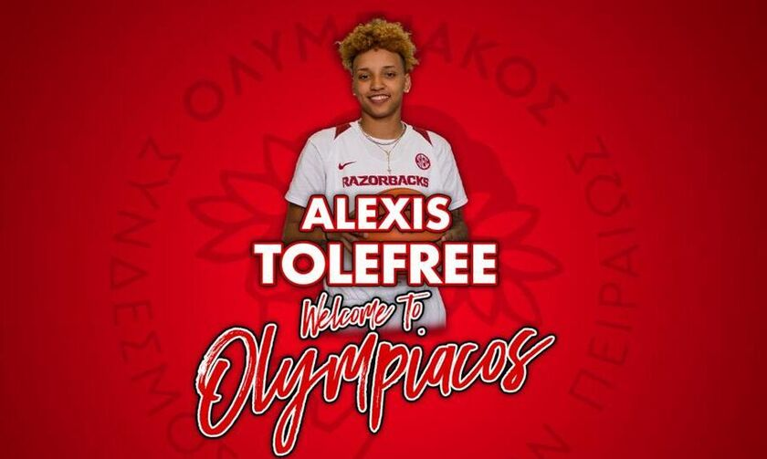 Ολυμπιακός: Ανακοίνωσε την Τόλφρι