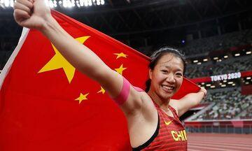 Ολυμπιακοί Αγώνες 2020: Έγραψε ιστορία η Λιού Σινγίνγκ, πρώτο χρυσό στο ακόντιο για την Κίνα! (vid)
