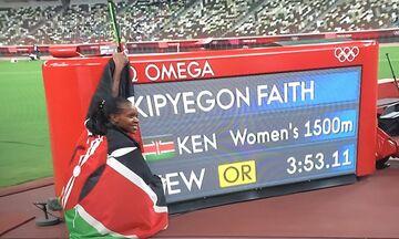 Ολυμπιακοί Αγώνες 2020: Αφρικανική κυριαρχία στα 5000μ. ανδρών και στα 1.500μ. γυναικών! (vid)