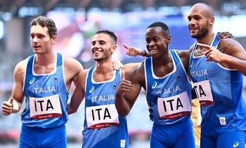 Ολυμπιακοί Αγώνες 2020: Η Ιταλία το χρυσό μετάλλιο στην απίστευτη κούρσα των 4Χ100 (vid)