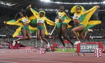 Ολυμπιακοί Αγώνες 2020: Η Τζαμάικα νίκησε τις ΗΠΑ στα 4Χ100μ. γυναικών! (vid)