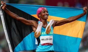 Ολυμπιακοί Αγώνες 2020: Έτρεχε... μόνη της η Μίλερ στα 400μ., δεύτερο σερί χρυσό μετάλλιο! (vid)