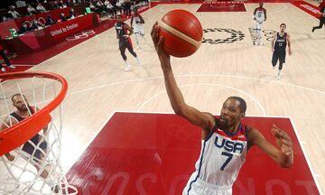 Ολυμπιακοί Αγώνες 2020: Ο Ντουράντ οδήγησε τις ΗΠΑ στο χρυσό, 82-87 τη Γαλλία! (vids)