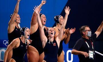Ολυμπιακοί Αγώνες 2020: Τρίτος συνεχόμενος τίτλος με επίδειξη δύναμης για τις ΗΠΑ στο πόλο γυναικών