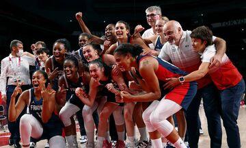 Ολυμπιακοί Αγώνες 2020: Χάλκινο η Γαλλία στο μπάσκετ γυναικών