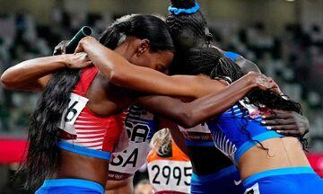 Ολυμπιακοί Αγώνες 2020: Έκαναν το «νταμπλ» οι ΗΠΑ σε 4Χ400 ανδρών και γυναικών!
