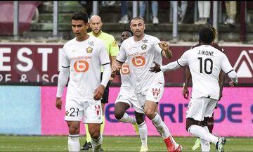 Ligue 1: Γλίτωσε την ήττα (3-3), με τη Μετς, η πρωταθλήτρια Λιλ, χάρη σε γκολ του Γιλμάζ στο 97'!