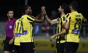 ΑΕΚ: Πρώτη εμφάνιση Χατζισαφί - Μισελέν στη φιλική νίκη, 2-0, επί του Απόλλωνα Σμύρνης, στα Σπάτα!