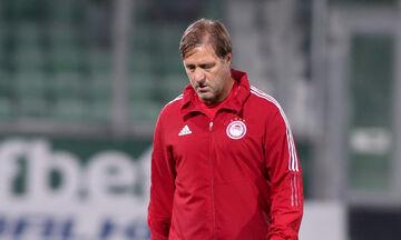 Λουντογκόρετς - Ολυμπιακός 2-2 (4-1 πέν.): Μαρτίνς: «Χάσαμε έναν στόχο, πάμε στον επόμενο»