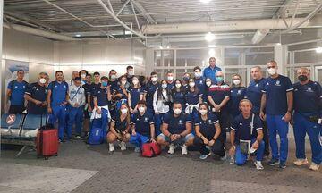 Παγκόσμιο Πρωτάθλημα Κ20: Αναχώρησε η αποστολή της Ελλάδας