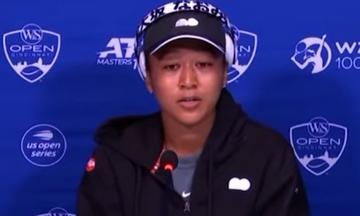 Ναόμι Οσάκα: Αποχώρησε κλαίγοντας από τη συνέντευξη Τύπου του Cincinnati Open (vid)