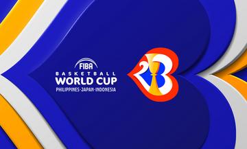 FIBA World Cup 2023: Στις 31 Αυγούστου η κλήρωση για τις 32 ομάδες της Ευρώπης
