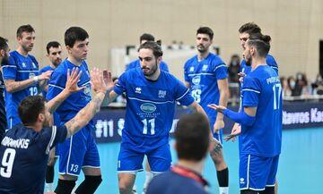Εθνική βόλεϊ Ανδρών: Φιλικά με Λετονία πριν το Ευρωπαϊκό πρωτάθλημα