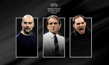 Γκουαρντιόλα, Μαντσίνι και Τούχελ οι υποψήφιοι για το βραβείο της UEFA για τον καλύτερο προπονητή!