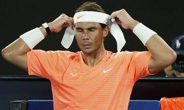 Απόσυρση από το U.S. Open, λόγω προβλημάτων τραυματισμού και (πρόωρο) φινάλε της σεζόν για Ναδάλ