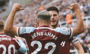 Premier League: Η Γουέστ Χαμ «σφυροκόπησε» τη Λέστερ με 4-1 (highlights)