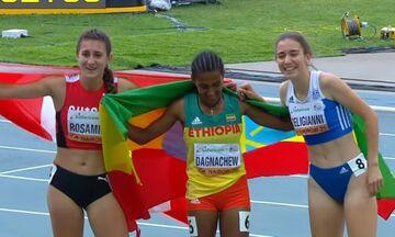 Παγκόσμιο Πρωτάθλημα Κ20: Η Δεληγιάννη κατέκτησε το χάλκινο στα 800 μέτρα (vid)
