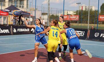 Εθνικές 3Χ3 U23: Φινάλε με μία νίκη και τρεις ήττες στο Nations League