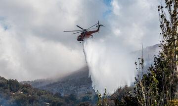 Υπό έλεγχο πυρκαγιά στο Οροπέδιο Λασιθίου