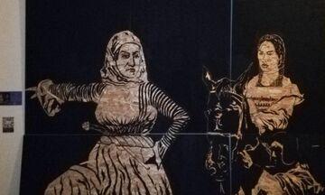 Η ελληνική συμμετοχή στην Μπιενάλε του Κούσκο παρουσιάζεται στο Μουσείο της Μπουμπουλίνας