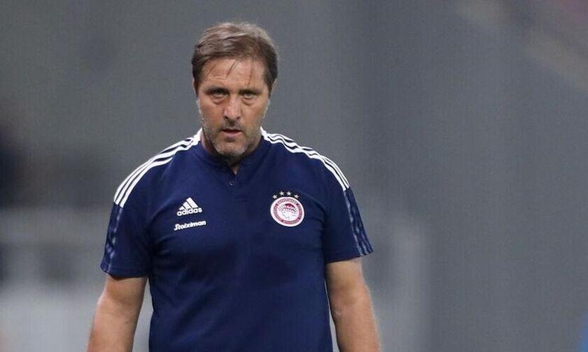 Σλόβαν – Ολυμπιακός 2-2: Μαρτίνς: «Είμαι πολύ ευχαριστημένος με το ρόστερ»