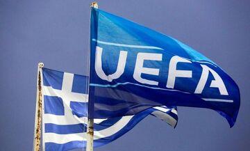 Καθηλωμένη 21η, στην κατάταξη της UEFA, η Ελλάδα, αλλά ελπίζει με Ολυμπιακό και ΠΑΟΚ στους ομίλους!