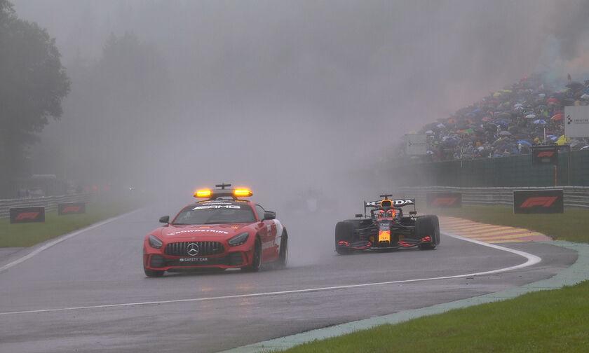 Formula 1: Τα έκαναν μούσκεμα στο Βέλγιο