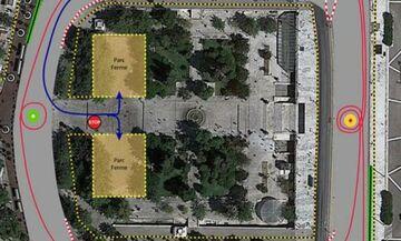 Ράλλυ Ακρόπολις: Η εικόνα της πλατείας Συντάγματος - Νέα άσφαλτος και φανάρια ενόψει της υπερειδικής