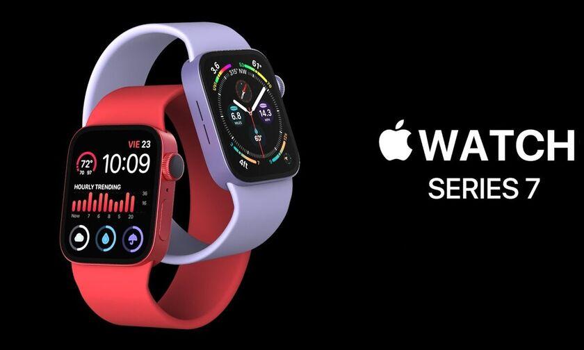 Apple Watch 7: Με περισσότερο χώρο στην οθόνη και ισχυρό επεξεργαστή!