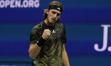 US Open: Προκρίθηκε στον 3o γύρο ο Στέφανος Τσιτσιπάς, 3-1 τον Μαναρινό