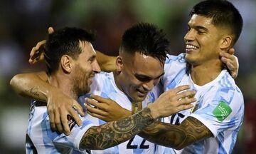 Προκριματικά Μουντιάλ 2022: Με νίκη συνέχισαν Αργεντινή και Βραζιλία